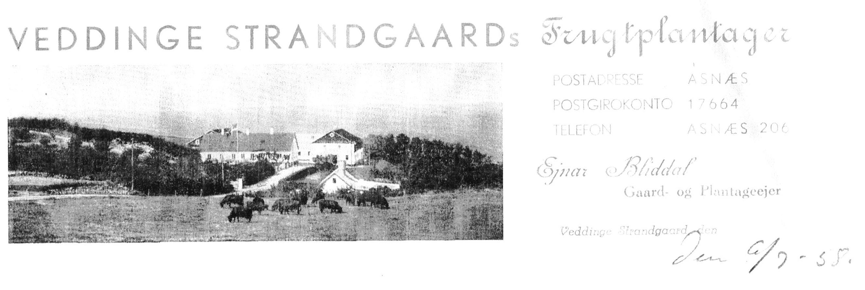 Strandgården brevpapir